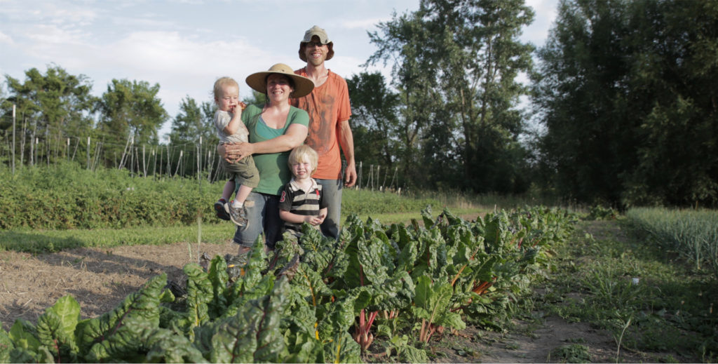The Rossow Farm Family